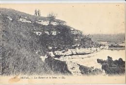 23947 Deux Cpa, Orival Rochers Seine LL 17 -vallée ND 14