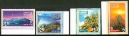 1996 Hong Kong Montagne Mountains Montagnes Paesaggi Landscapes Paysages Set MNH** B554 - Géologie