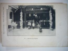 CPA Vietnam Indochine Cochinchine Saigon Cholon - Intérieur De Pagode Vers 1900 - Vietnam