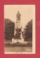 *  CPA..dépt 57..METZ :  Monument ( Le Poilu )  :  Voir Les 2 Scans - War Memorials