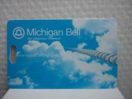 Michigan Bell Customer Card Also Photo Of Backside 2 Photo's - Altri – America