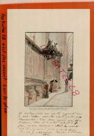 CPA Lithographie - Boiserie Du 18e Siècle  Dans L'Eglise  Abbatiale De MARMOUTIE  Aout  2014 Div 103 - Künstlerkarten