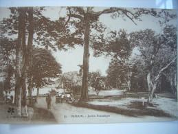 CPA Vietnam Indochine Cochinchine Saigon - Jardin Botanique Animée L. Crespin - Viêt-Nam