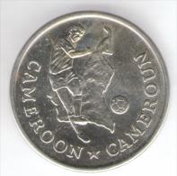 1990 WORLD CUP COPPA DEL MONDO MEDAL / COIN CAMERRON - Italia