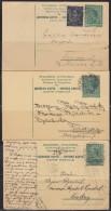 5559. Kingdom Of Yugoslavia, 3 Postal Stationery - Ganzsachen