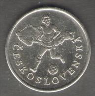 1990 WORLD CUP COPPA DEL MONDO MEDAL / COIN CESKOSLOVENSKA - Italia