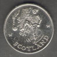 1990 WORLD CUP COPPA DEL MONDO MEDAL / COIN SCOTLAND - Italia