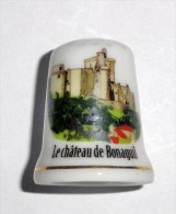 De A Coudre En Porcelaine  Chateau De Bonaguil - Dedales