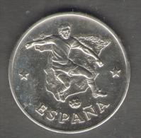 1990 WORLD CUP COPPA DEL MONDO MEDAL / COIN ESPAÑA SPAIN - Italia
