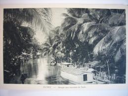 CPA Vietnam Indochine Cochinchine - Sadec -  Arroyo Aux Environs - Nadal - Delta Du Mekong - Viêt-Nam