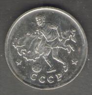 1990 WORLD CUP COPPA DEL MONDO MEDAL / COIN CCCR RUSSIA - Italia