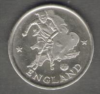 1990 WORLD CUP COPPA DEL MONDO MEDAL / COIN ENGLAND - Italia
