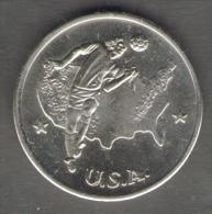 1990 WORLD CUP COPPA DEL MONDO MEDAL / COIN USA - Italia