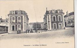 23953 TONNERRE -college Des Garcons - Durand Photo - Pliure !