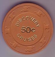 ETATS UNIS - Jeton De Casino Discovery Cruises - - Casino