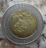 LIRE 500 DI SAN MARINO DEL 1982 TAGLIATA DALLA SERIE DIVISIONALE IN FDC - - San Marino