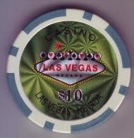ETATS UNIS - Jeton De Casino Las Vegas. Nevada - - Casino