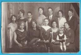 C.P.A.Photo Famille Communion 1924 - Electric-Photo Paris - Groupes D'enfants & Familles