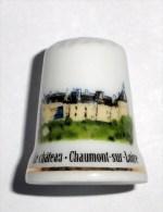 De A Coudre En Porcelaine  Chateau De Chaumont Sur Loire - Dedales