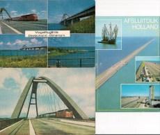 MER BALTIQUE : Liaison Ponts Et Digues Entre HOLLANDE - DANEMARK - ALLEMAGNE LOT De 3 CPM Détails Sur Les Scans - Ouvrages D'Art