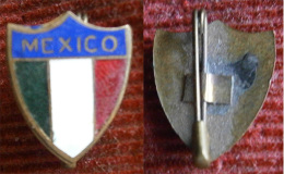 Soccer / Football - MEXICO FOOTBALL ASSOCIATION - Enamel Badge,pin / Brooch - Fútbol
