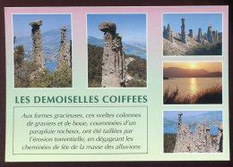 CPM 05 Environs De Serre-Ponçon Les Demoiselles Coiffées Multi Vues - France