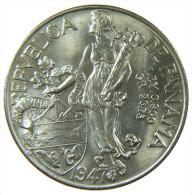 PANAMA UN 1 BALBOA 1947  SILVER SILBER - Panama