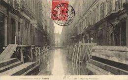 CPA PARIS 7e (Dep.75) - Inondations 1910 - Rue De Verneuil (64512) - Unclassified