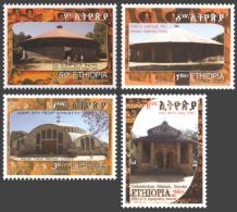 eth14103a Ethiopia 2014 Churches 4v