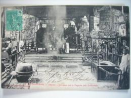 CPA Vietnam Indochine Cochinchine - Cholon - Intérieur De La Pagode Des Cantonais 1909 Poujade De Ladevèze - Viêt-Nam