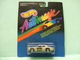 POLICE TAXI - Auto Magic AUTOMAGIC 1987 - HOTWHEELS Hot Wheels Mattel 1/64 - HotWheels