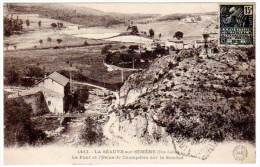 La Séauve Sur Semène - Le Pont Et L'Usine De Champdieu ... - France