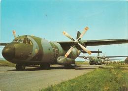 CPA-1960-AVION MILITAIRE -TRANSALL C 160-Sur La PISTE-TBE - Parachutisme