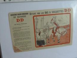 Buvard   Chaussettes  Bas Socquettes  DD  Phase D  Dessin Gad - Blotters