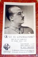 ESPAÑA  GUERRA CIVIL, GENERALISIMO FRANCO , NAVIDAD 1938 - Madrid