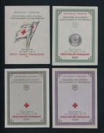 COLLECTION COMPLETE 29 CARNETS CROIX ROUGE DIFF. 1955/1983 NEUFS** TTB/SUP. COTE 1080 �