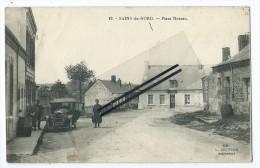 CPA - Sains Du Nord - Place Neveau - Unclassified