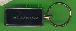 PORTE-CLEFS - COLLEGE LIONEL-GROULX  DE MONTRÉAL, QUÉBEC - KEYRINGS -  PORTE-CLÉS EN MÉTAL - - Porte-clefs
