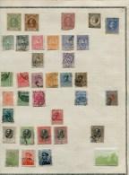 COLLECTION SERBIE/BOSNIE/SLOVENIE + 180 TIMBRES DIFF. 1868/1930 NEUFS*/OBLIT. MAJ. TB FORTE COTE