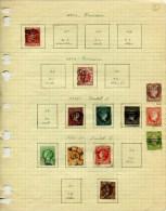 COLLECTION ESPAGNE 1270 TIMBRES DIFF. 1850/1871 EN MAJORITE OBLIT. TB COTE TRES IMPORTANTE