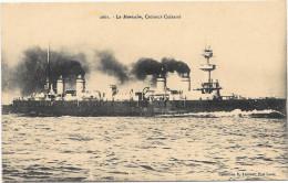 """(265-00) Navire De Guerre - Croiseur Cuirassé """"Le Montcalm"""" - Krieg"""