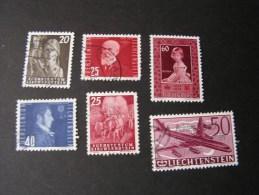 == Lichtenstein , Altes Lot  293, 341,260,261, 393  Ca. €  30,00 - Lots & Kiloware (max. 999 Stück)