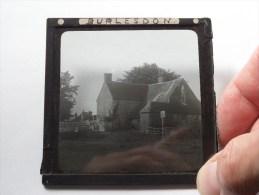 U.K. Burlesdon : Plaat +/- 8 X 8 Cm. ( Zie Foto Voor Details ) ! - Glasplaten
