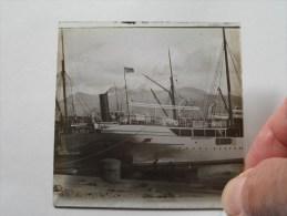 Identify / Identificier / Identificeer ( U.K. GALLILEO ........Ship ) : Plaat +/- 8 X 8 Cm. ( Zie Foto Voor Details ) ! - Glasplaten