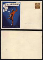 ALLEMAGNE - III REICH / 1939 ENTIER POSTAL PRIVE DE PROPAGANDE ILLUSTRE - JOURNEE DU TIMBRE  (ref E437) - Allemagne