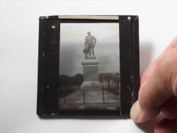 Sir FRANCIS DRAKE Statue ( U.K. ) : Plaat +/- 8 X 8 Cm. ( Zie Foto Voor Details ) ! - Glasplaten