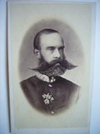Photo CDV De L'archiduc Rainer Régnier Cousin De L'empereur François-Joseph D'Autriche - Habsbourg - Photographs