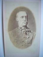 Photo CDV De L'archiduc Albrecht Albert De Teschen Cousin De L'empereur François-Joseph D'Autriche - Habsbourg - Fotos