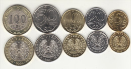 KAZACHSTAN Coin 5 Set - Kazakhstan