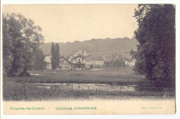 E3654 - FOURON - LE - COMTE  -  Château Altenbronk - Voeren